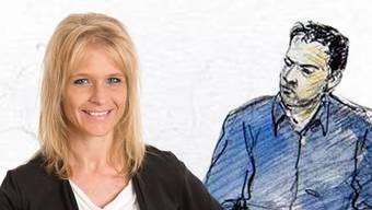 Nicole Müller-Boder verlangt vom Kanton, er soll im Fall Wesam A., hier in einer Gerichtszeichnung von 2016, Druck machen.