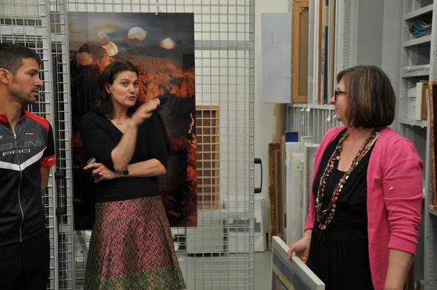 Heidi Pechlaner Gut spricht zur Sammlung im Historischen Museum