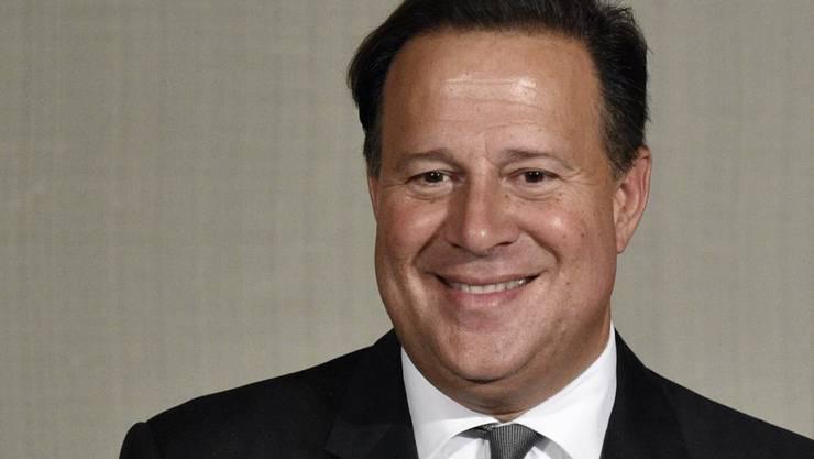 In Verlegenheit gebracht: Panamas Präsident Juan Carlos Varela soll vom Odebrecht-Konzern Wahlkampfspenden erhalten haben. (Archivbild)