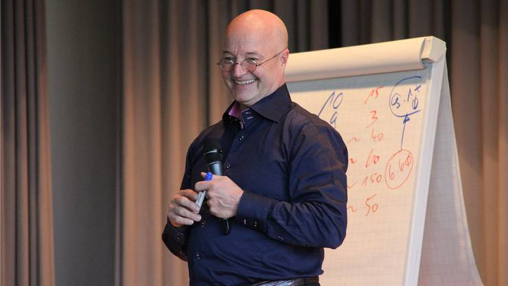 Gedächtnistrainer Gregor Staub. lrb