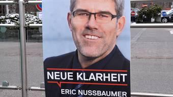 Die CVP muss auf einen Sieg Eric Nussbaumers hoffen.