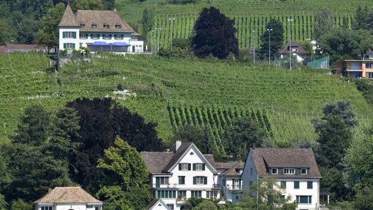 Hier ist Mieten günstiger als Kaufen: Rebberge und Villen mit Seeanstoss in Erlenbach an der Zürcher Goldküste.