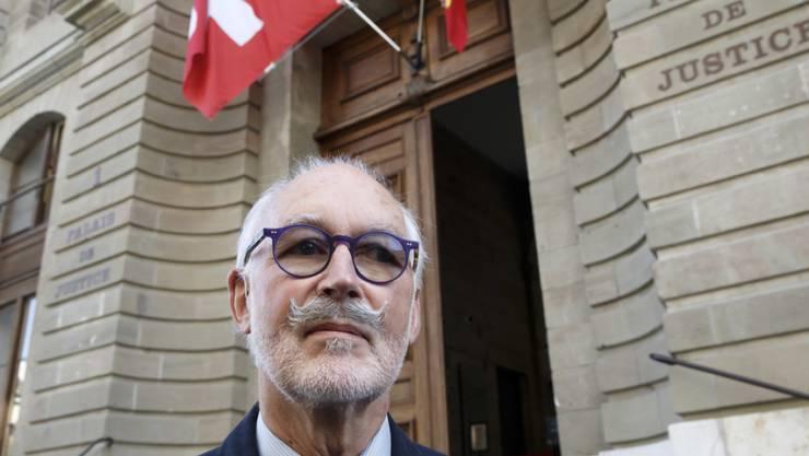 Pierre Beck, Vize-Präsident von Exit Schweiz Romandie, wird das Urteil voraussichtlich ans Bundesgericht weiterziehen. (Archivbild)