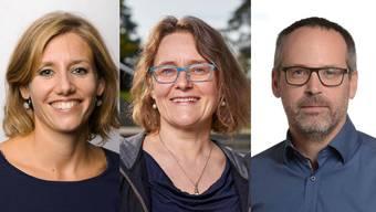 Frisch gewählte Mitglieder des Windischer Einwohnerrats.