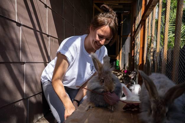Das Tierwohl liegt ihr sehr am Herzen.