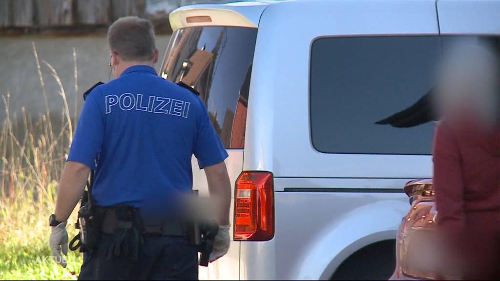 Schüsse in einer Wohnung: In Giebenach verschanzt sich ein 65-Jähriger