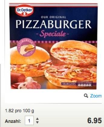 Pizza: Die der deutschen Firma Dr. Oetker gibts momentan für knapp 7 Franken im Coop. Können wir bald für 5.80 schlemmen?