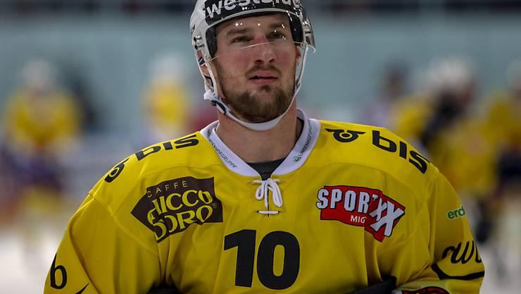 Tristan Scherwey ist auf dem Weg, Rekordspieler des SC Bern zu werden