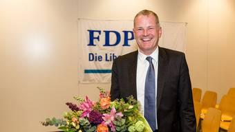Die FDP Aargau nominiert Stephan Attiger am Parteitag in der Stiftung für Behinderte in Lenzburg als Regierungsratskandidaten