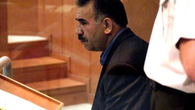 Abdullah Öcalan 1999 vor Gericht
