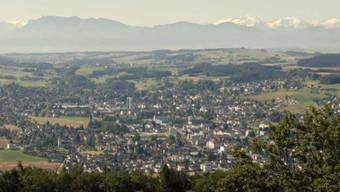 Blick vom Homberg auf das Wynental: Am Sonntag sind hier die neuen Gemeinderäte gewählt worden.