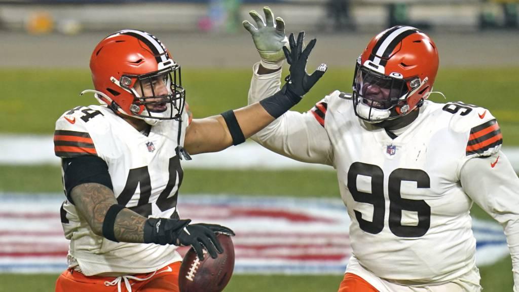Browns gelingt erste Playoff-Überraschung