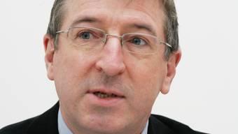 Peter Voser aus Killwangen, er ist Präsident der Fraktion CVP/BDP.