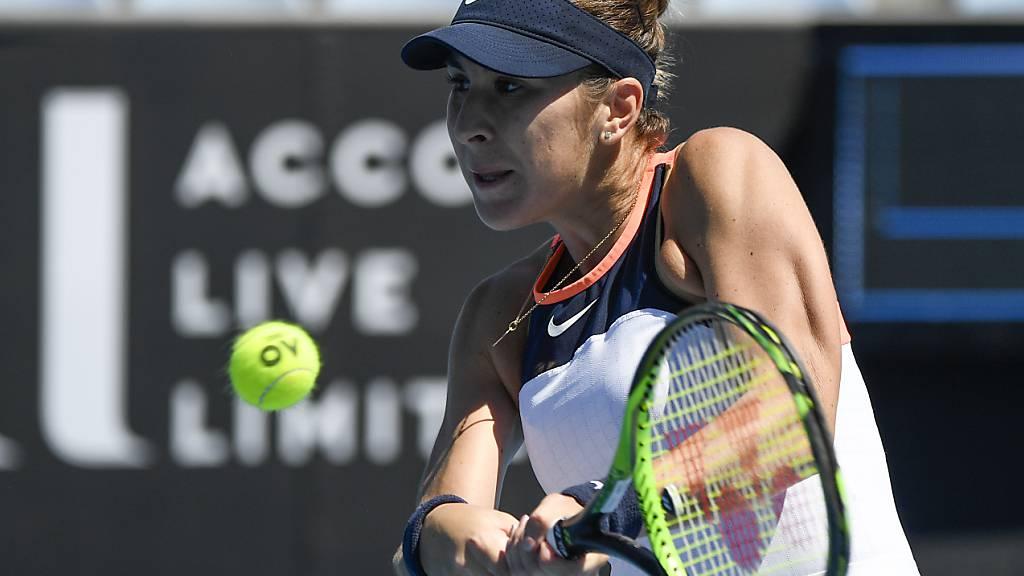 Belinda Bencic bestreitet in Melbourne ihr erstes Grand-Slam-Turnier seit einem Jahr, nachdem sie das letztjährige US Open und French Open ausgelassen hat
