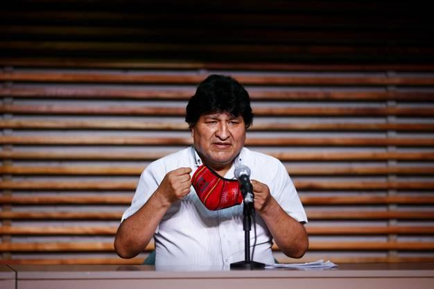 Evo Morales, Boliviens Ex-Präsident, sprach von einem «historischen Tag».