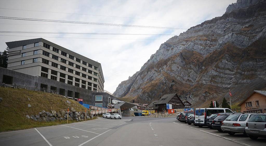 Einblick ins neue Säntis-Hotel