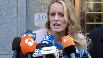 Pornodarstellerin Stormy Daniels, hatte 2006 nach eigener Aussage Sex mit Donald Trump – kurz nachdem dessen Frau Melania den gemeinsamen Sohn Barron zur Welt gebracht hatte. (Archivbild)