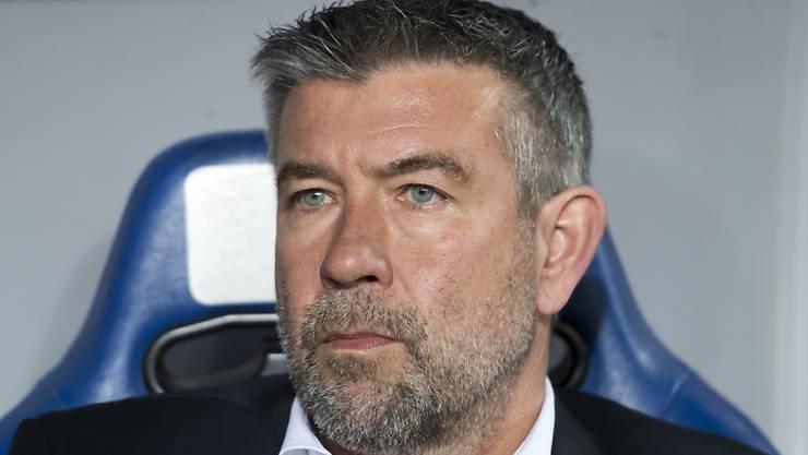 Urs Fischer muss den FC Basel Ende Saison verlassen.