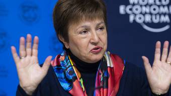 Kristalina Georgieva leitet den Internationalen Währungsfonds (IWF).