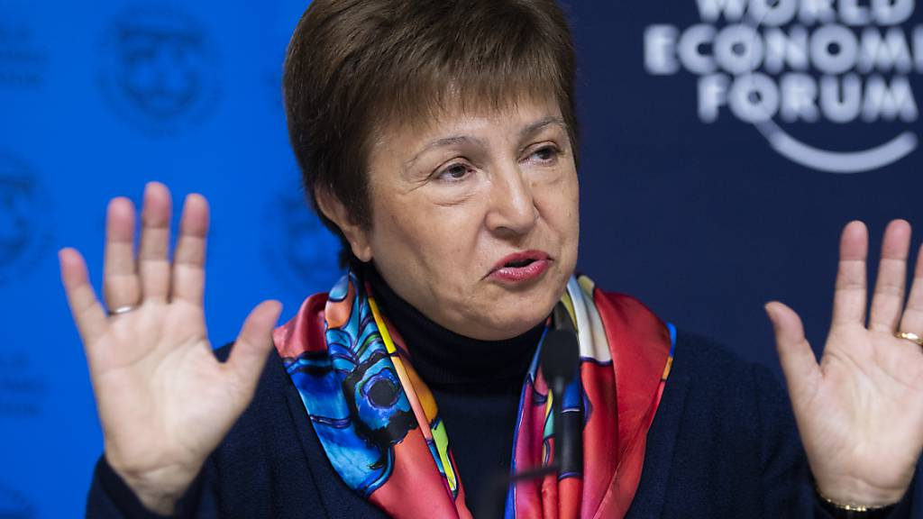 Kristalina Georgieva leitet den Internationalen Währungsfonds (IWF).
