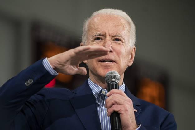 Schon halb im Ziel: der demokratische Präsidentschaftskandidat Joe Biden.