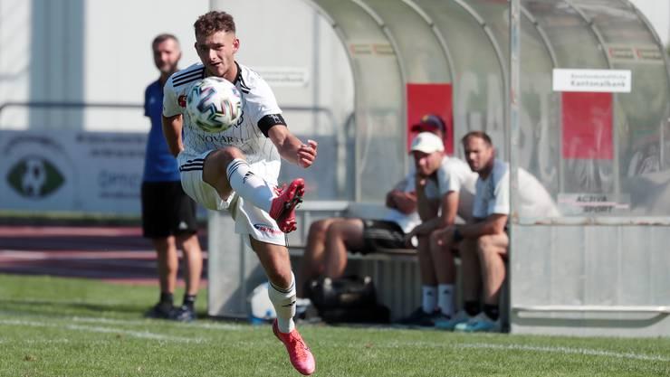 Daniele Vesco und die FCB U21 zahlten zu Beginn Lehrgeld.