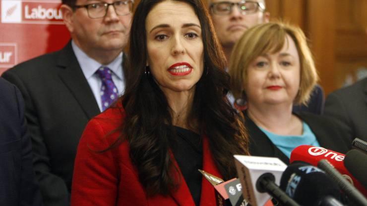Die neue Parteivorsitzende Jacinda Ardern soll der Labour-Partei in Neuseeland zu einem Sieg bei der Parlamentswahl verhelfen.