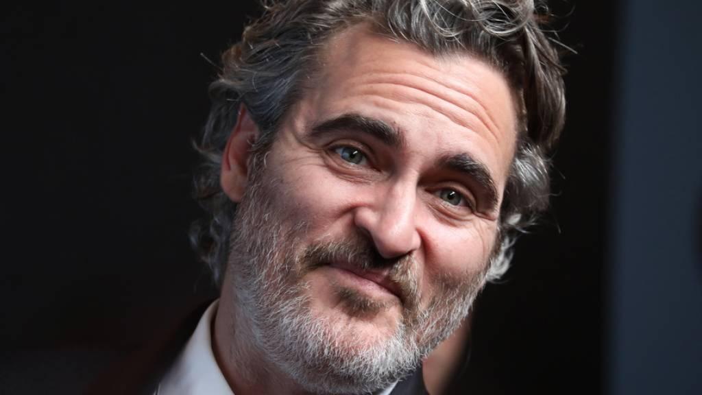Joaquin Phoenix: statt Aftershow-Party hält er «Schweine-Wache»