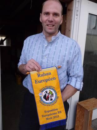 André Rohn mit der Auszeichnung