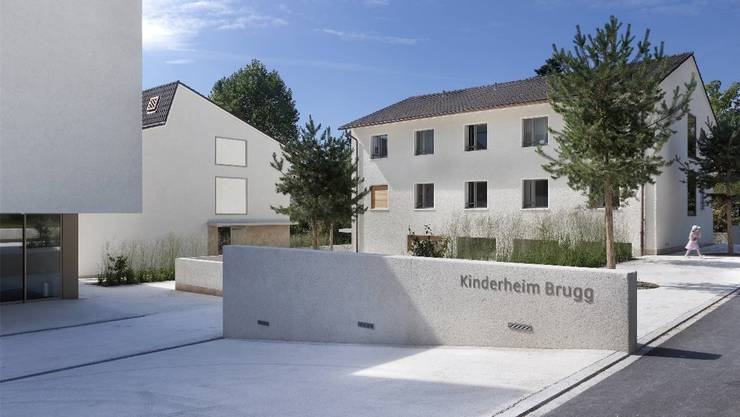 Kinderheim Brugg: Hier wurden nach dem Tötungsdelikt von Gipf-Oberfrick drei afghanische Kinder untergebracht, die Kosten führten zu Diskussionen.