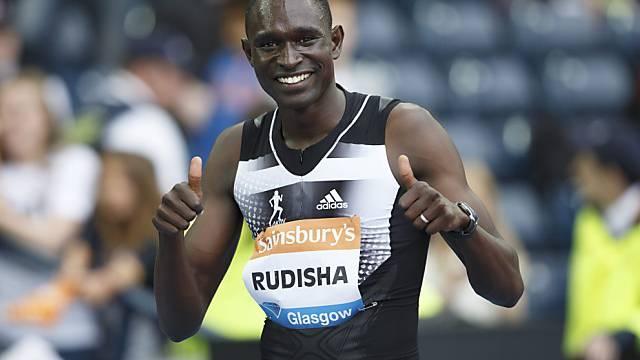 David Rudisha: Schnellster Mann in diesem Jahr über 800 Meter