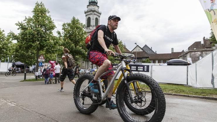 XXL Reifen sind auch für Bikes angesagt