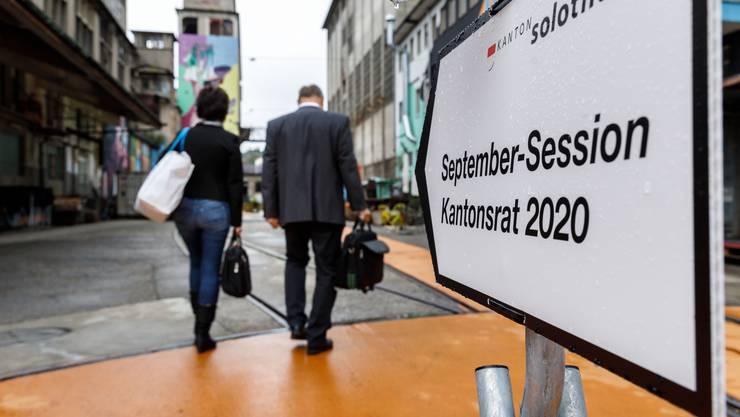 Hier gehts lang zur September-Session des Kantonsrats