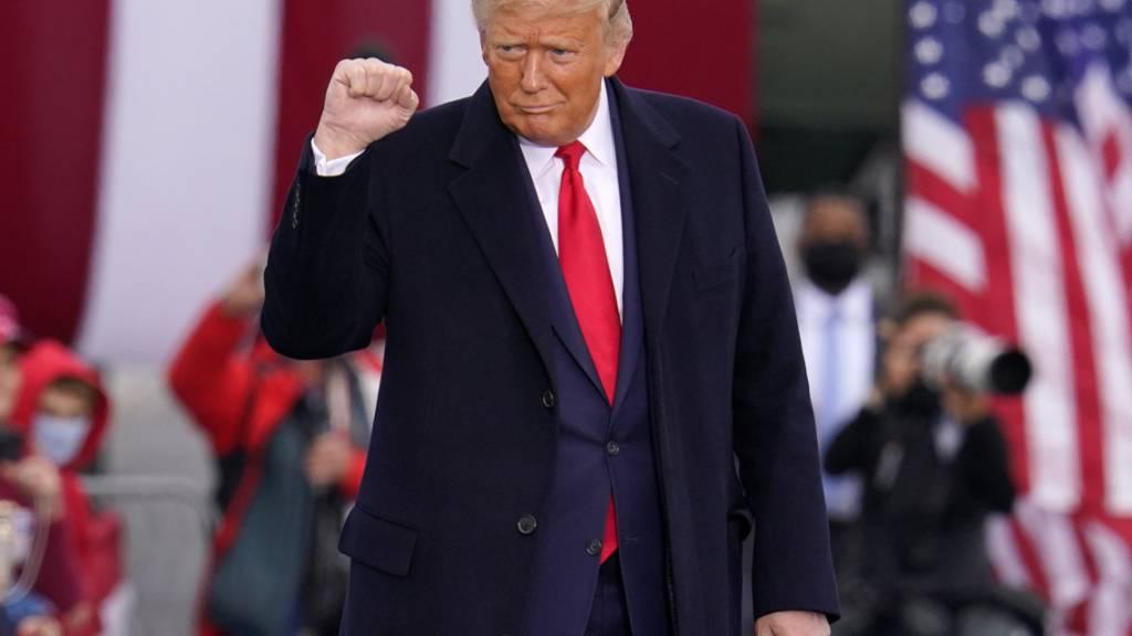 Trump: Werde Wahl nur bei «massivem Wahlbetrug» verlieren