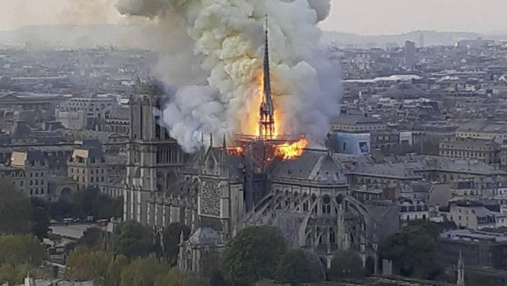 Der Brand der Notre-Dame-Kathedrale dominierte auf allen Medien – mit wenigen Ausnahmen.