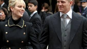 Zara Phillips, Tochter von Prinzessin Anne, und Mike Tindall haben sich verlobt (Archiv)