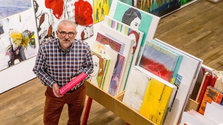 Der geistige Vater des Kunstsupermarkt: Peter Lukas Meier