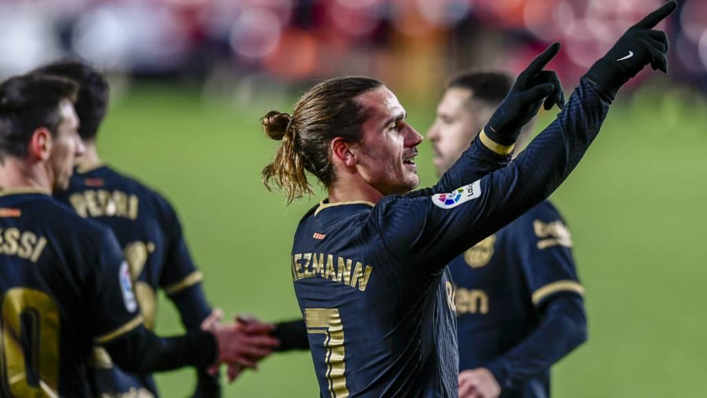 Der FC Barcelona mit dem dritten Sieg in Folge