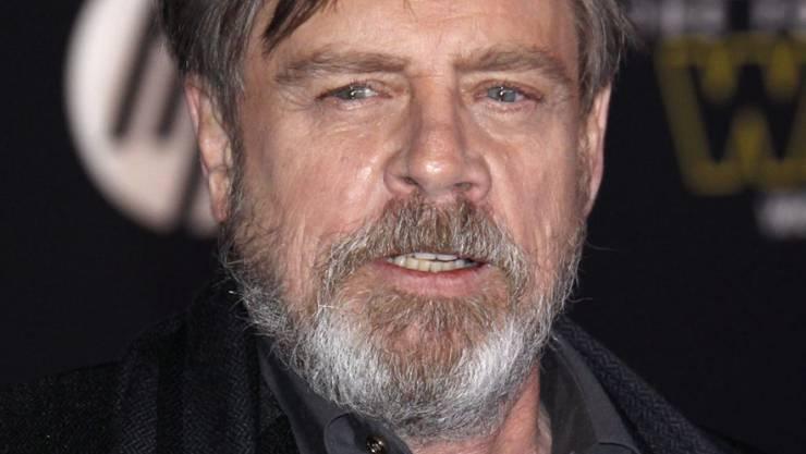 """Ihm tun seine Fans leid, die auf gefälschte Autogramme hereinfallen: """"Star Wars""""-Star Mark Hamill (in einer Aufnahme vom 14. Dezember dieses Jahres in Hollywood)."""