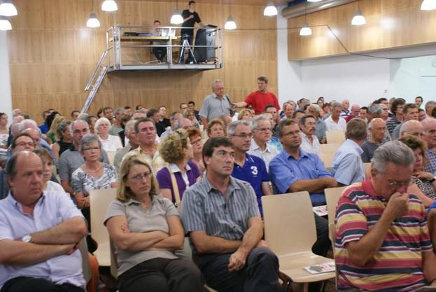 2009 präsentiert Weiningen ihr Gubrist-Ausbau-Projekt die Chance Gubrist