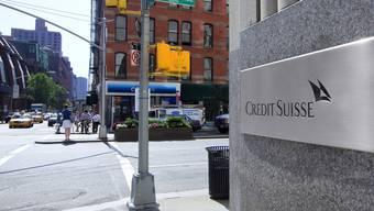Niederlassung der Grossbank Credit Suisse in New York (Archiv)