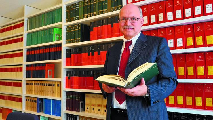 Sucht nach Freiräumen: Andreas Bandi wünscht sich eine einfache und pragmatische Neufassung des Bundesrechts. (Maddalena Tomazzoli Huber)