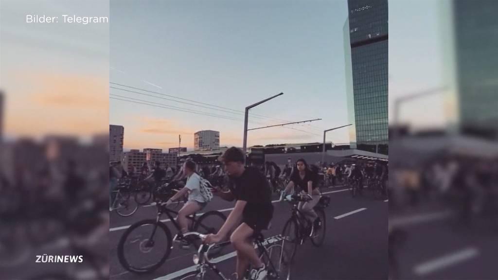 Stadt erntet wegen Velo-Bewegung «critical mass» scharfe Kritik