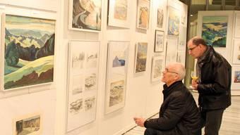 Der Badener Ionel Müller malte viel, zeigte seine Bilder aber kaum einmal der Öffentlichkeit – bis jetzt.dvi