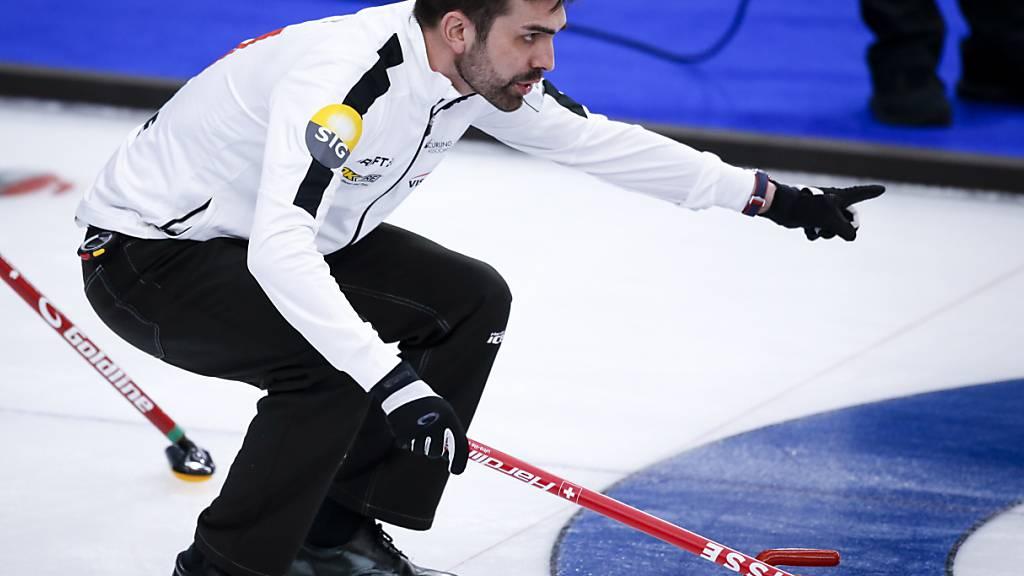 Erste Niederlage der Schweizer Curler an der WM