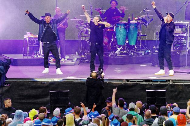 Die Fantastischen Vier schlossen das Festival ab.