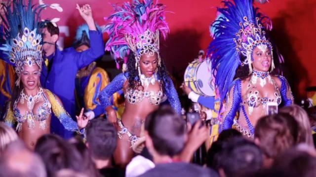 House of Switzerland in Rio mit rauschender Party eröffnet