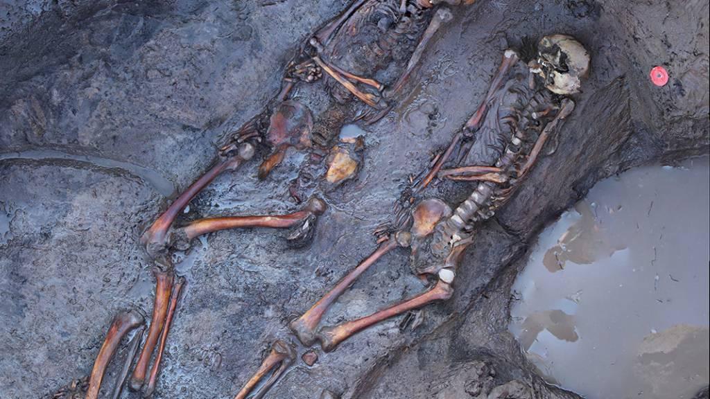 Die 1700 Jahre alten Skelette von südsibirischen Steppennomaden weisen darauf hin, dass sie sich häufig die Köpfe einschlugen.
