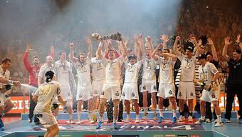 Kieler Mannschaft feiert standesgemäss Gewinn der Champions League