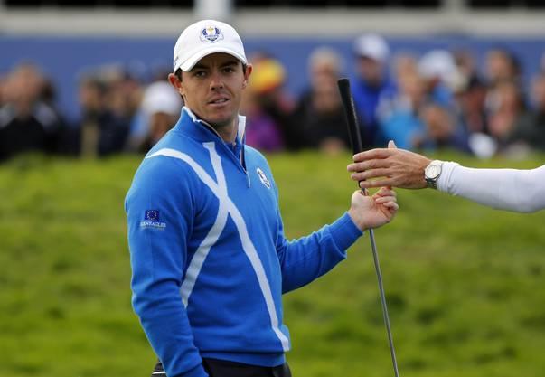 Er trifft unter anderem auf Tiger Woods, Justin Rose und Dustin Johnson.